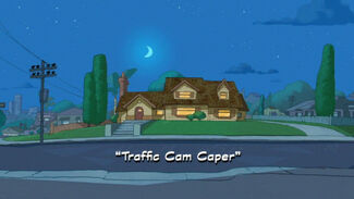 """Click here to view more images from """"Traffic Cam Caper""""."""