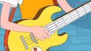 Linda guitar close up