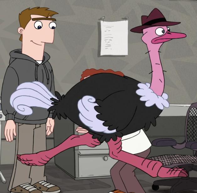Agent O (Ostrich)