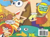 Phineas and Ferb (magazine)/May and June 2011