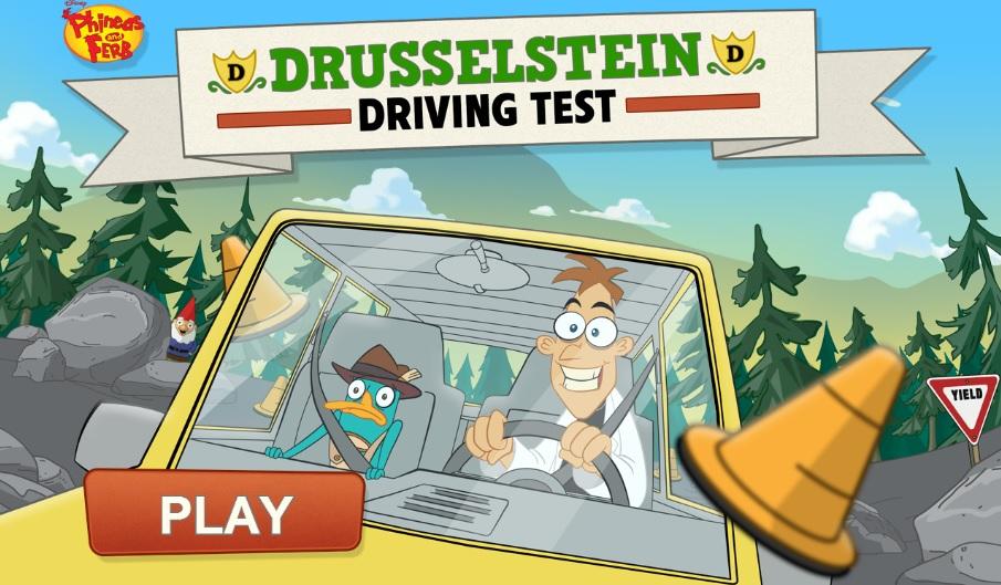 Drusselstein Driving Test (game)