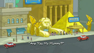 "Click here to view more images from ""Are You My Mummy?""."