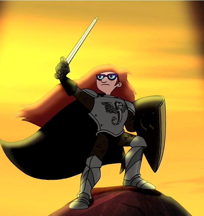 Carl the Red Headed Paladin
