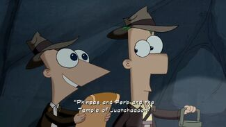 """Click here to view more images from """"Phineas and Ferb and the Temple of Juatchadoon""""."""