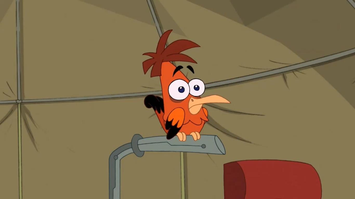 Heinz Doofenshmirtz's unnamed bird