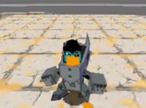 Perry the Platyborg (Desert Dimension)