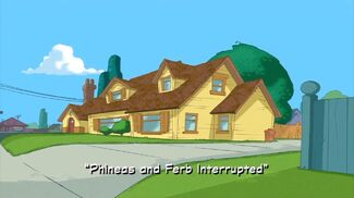 """Click here to view more images from """"Phineas and Ferb Interrupted""""."""