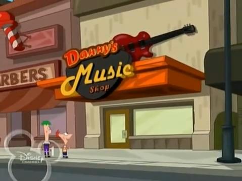 Danny's Music Shop