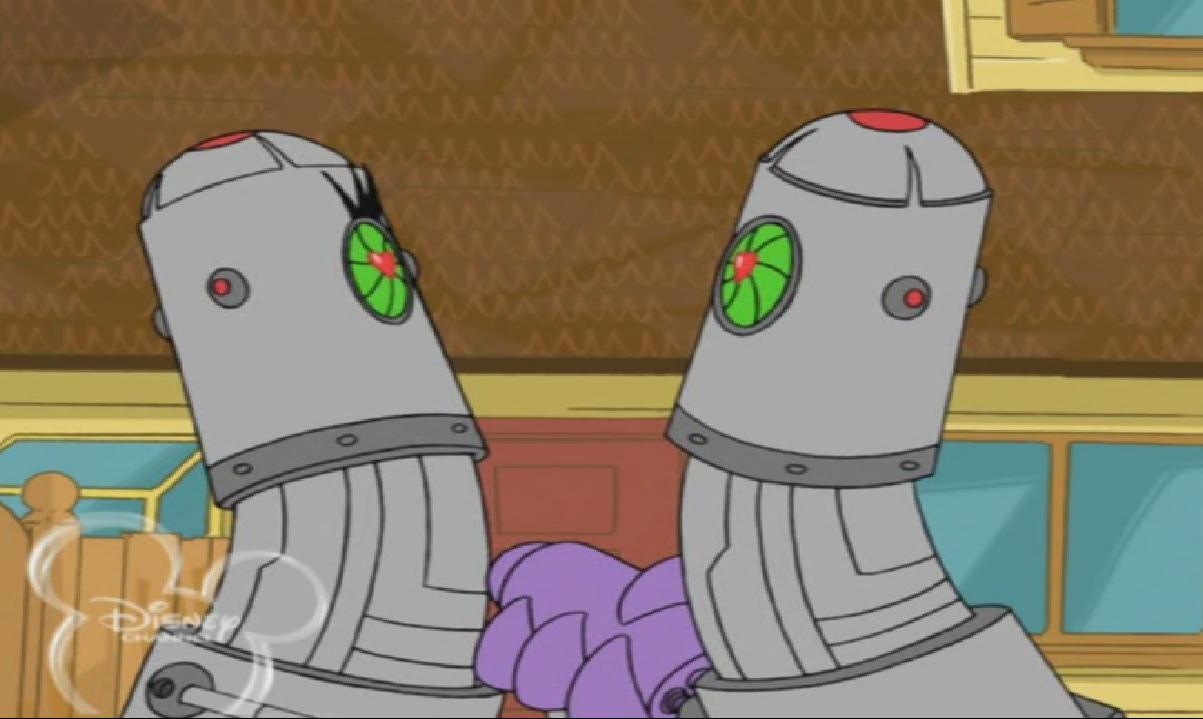 Funky Robot Romance