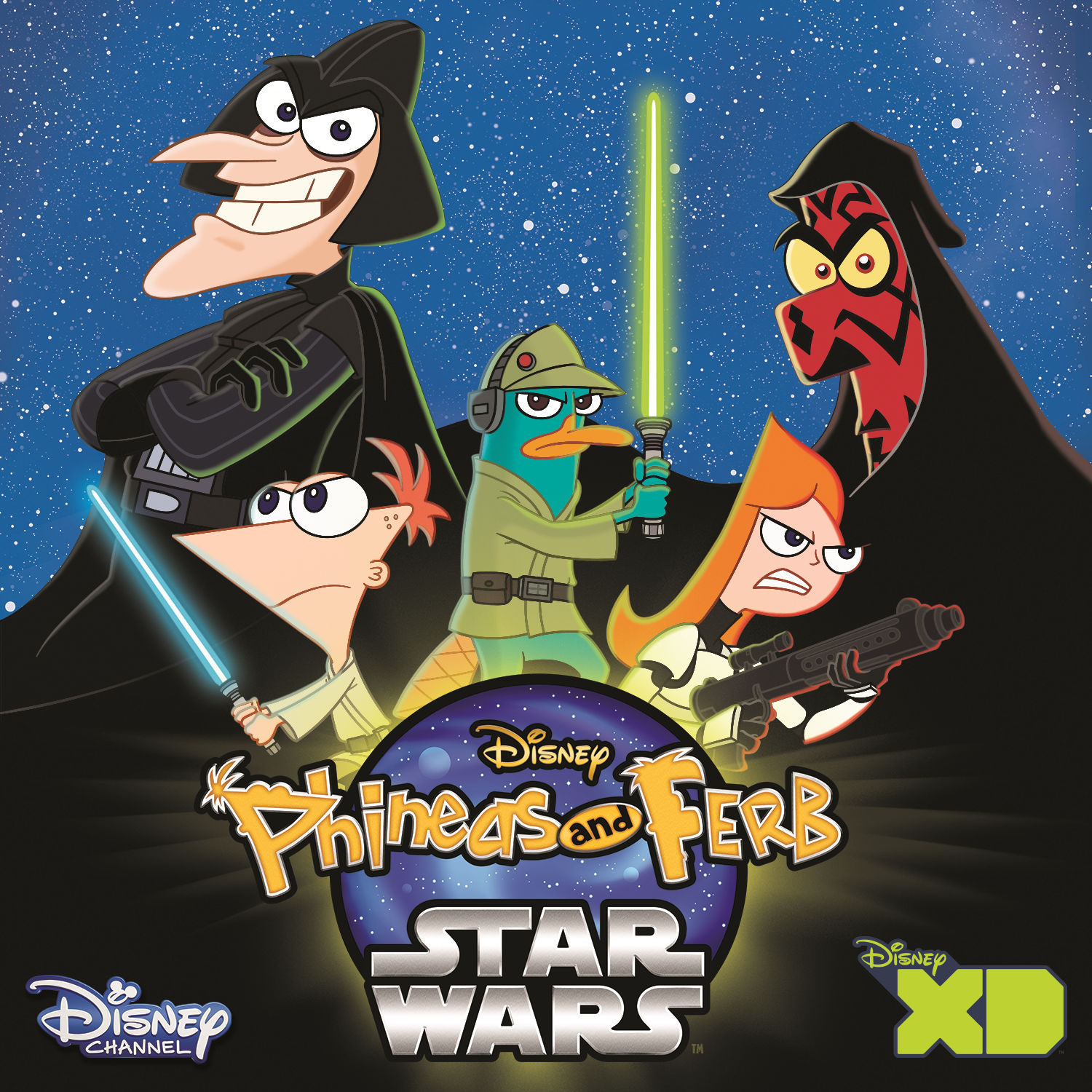 Phineas and Ferb Star Wars (Music from the TV Series) - EP