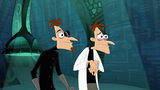 Doof-1 feels disappointed after he created an Other-Dimensionator that doesn't open
