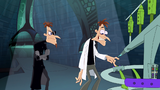 Doof-1 pushed a button to open a portal of the Other-Dimensionator