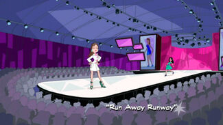 """Click here to view more images from """"Run Away Runway""""."""