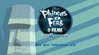 Clique aqui para ver mais imagens de Phineas e Ferb O Filme: Através da 2ª Dimensão.