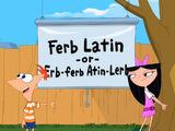 Latim do Ferb (idioma)