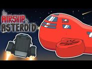 The Airship & Asteroid - Among Us Animation