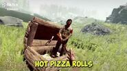 Totinos hot pizza rolls (1 hour)