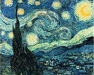 Starry Night by Van Gogh (also a jigsaw puzzle )