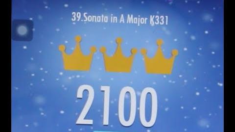 Piano Tiles 2 Sonata in A Major K331 Mozart High Score World Record 2100 Piano Tiles 2 Song 39