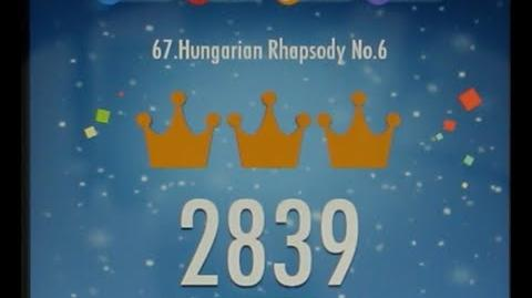 Piano Tiles 2 Hungarian Rhapsody No 6 (Franz Liszt) High Score 2839 Piano Tiles 2 Song 67