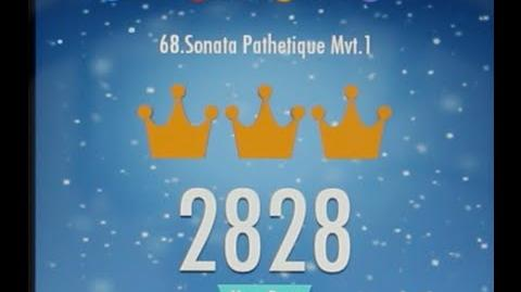Piano Tiles 2 Sonata Pathetique Mvt 1 (Beethoven) High Score 2828 Piano Tiles 2 Song 68