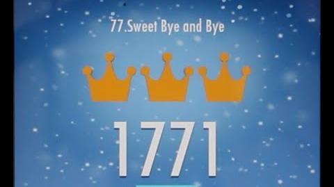 Piano Tiles 2 Sweet Bye and Bye (Walter) High Score 1771 Piano Tiles 2 Song 77