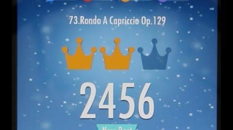 Piano Tiles 2 Rondo A Capriccio Op 129 (Handel) High Score 2456 Piano Tiles 2 Song 73