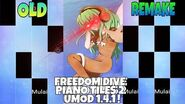 Piano Tiles 2 - UMod Freedom Dive (Remake ver) with Handcam + Freedom dive background -O