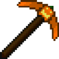 Pumpkin Pickaxe