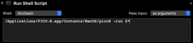 MacOS - Automator - Shell Script for PICO-8.png