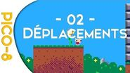 PICO8 Déplacer le personnage 02