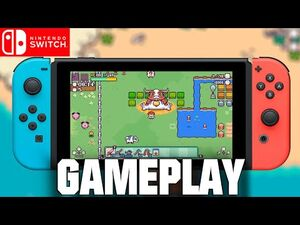 PICONTIER - HD Gameplay - Upcoming Nintendo Switch