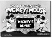 Title card Mickey au théâtre