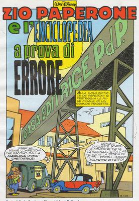 Picsou L'encyclopédie « Zéro défaut »