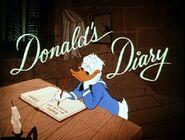 Title card L'Agenda de Donald