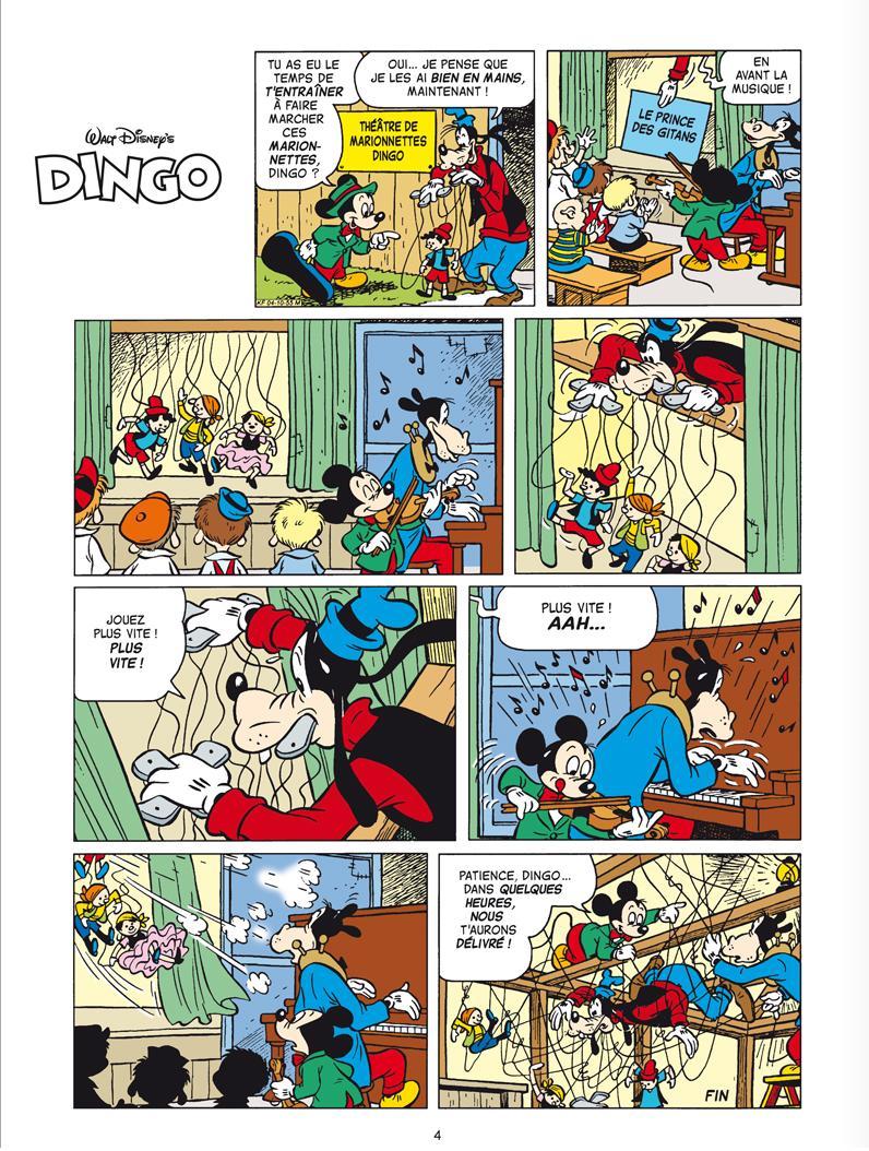 Dingo montreur de marionnettes