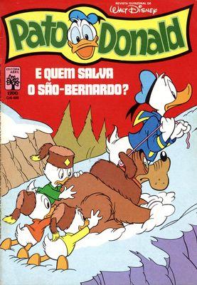 Donald Duck charmeur de serpents