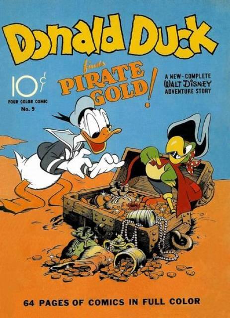Donald et le trésor du pirate !