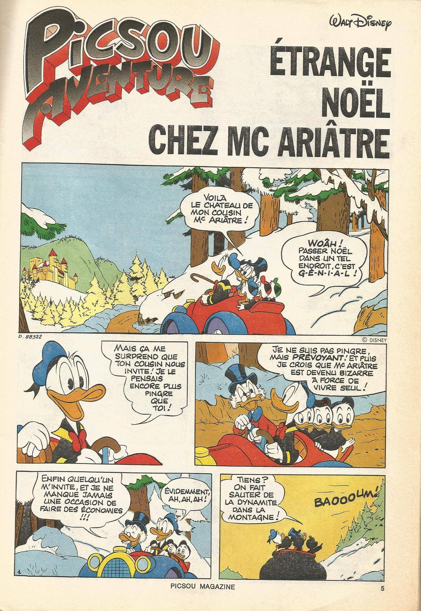 Étrange Noël chez McAriâtre