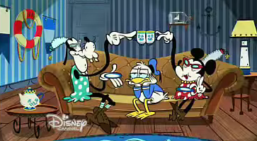 Grand-mère de Mickey Mouse