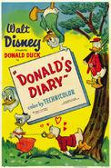 Affiche L'Agenda de Donald