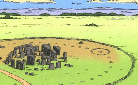 Scrooge MacDuck/Dossier: Le Mystère Stonehenge