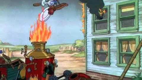 Mickey pompier