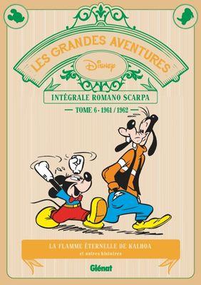 Les grandes aventures Disney - Intégrale Romano Scarpa