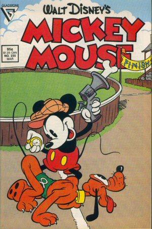 Mickey est en panne