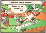 Sport-Goofy et Dingo