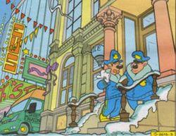 Commissariat de police de Mickeyville