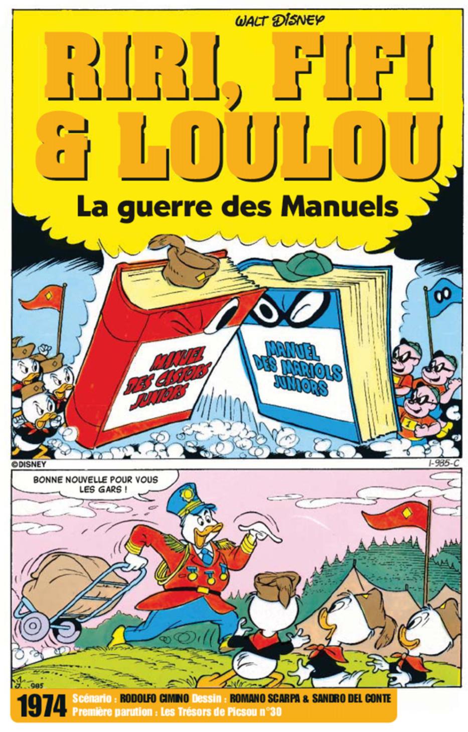 La guerre des Manuels