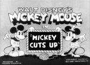 Mickey jardinier