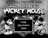 Title card The Delivery Boy